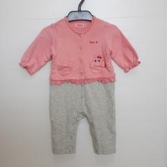 mikihouse HOT BISCUITS、50~70cm、カバーオール、綿・ポリウレタン、女の子用