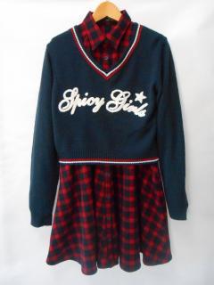 【キッズ】BLUE CROSS GIRLS  160〜170�pのオシャレな秋物♪