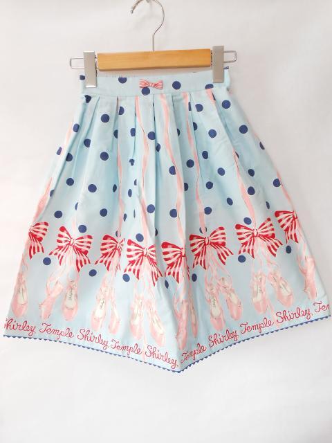 【キッズ】シャーリーテンプル Tシャツ&スカート 新品はお早目に!