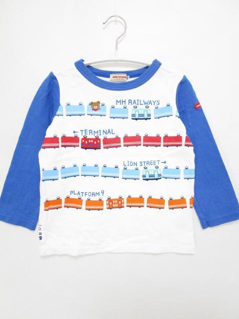 【キッズ】ミキハウス & ミキハウス ダブルB  男の子 ロンT、Tシャツ、カットソー、シャツなど