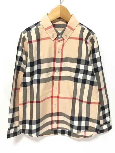 【キッズ】バーバリー入荷! 定番のチェックシャツ必見です!