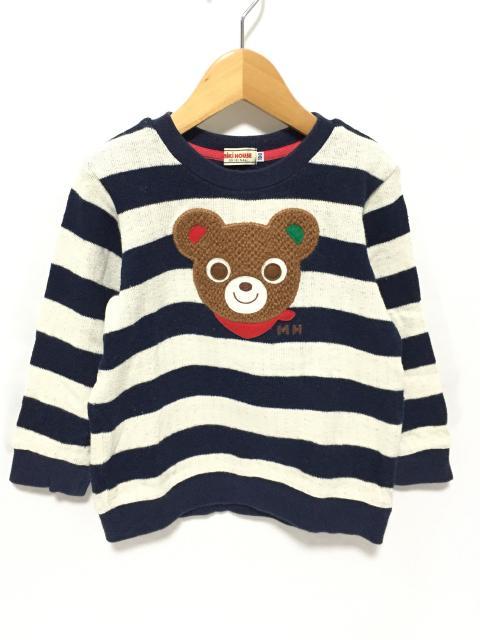 【キッズ】 ミキハウス・ダブルB プッチー、Bくん ワッペン プリントお洋服
