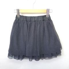 COMME CA come green、130cm、スカート、綿・ポリウレタン、女の子用
