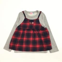 mikihouse HOT BISCUITS、110cm、プルオーバー、綿、女の子用
