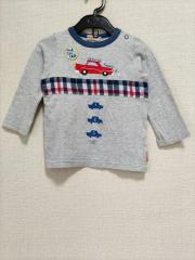mikihouse、90cm、カットソー、綿、男の子用