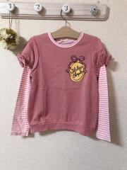 ShirleyTemple、130cm、カットソー、綿、女の子用