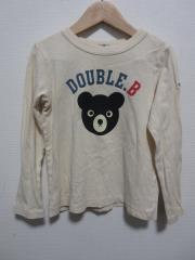 mikihouse DOUBLE.B、130cm、カットソー、綿、男女共用