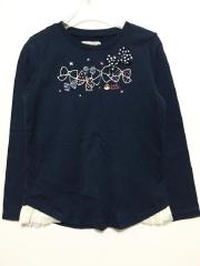 mikihouse、130cm、カットソー、綿、女の子用