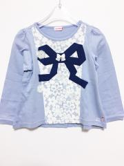 mikihouse、110cm、カットソー、綿、女の子用
