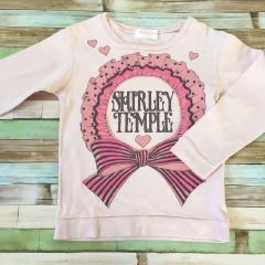 ShirleyTemple、110cm、カットソー、綿、女の子用